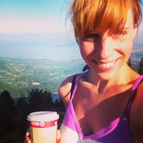 Grouse Grind at 6am!! Best start into the day!