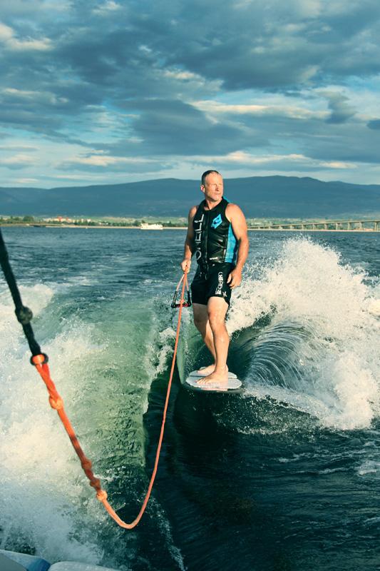 Gary on Lake Okanagan