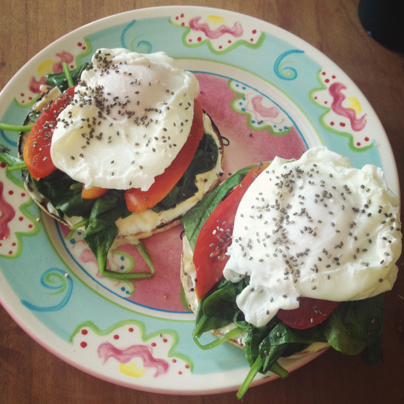 Eggs Benedict - Healthy Brunch