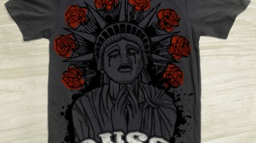 Russ Rankin * Liberty Tshirt Design