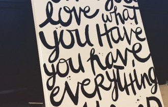 Typography Painting