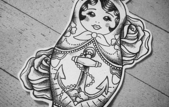 Tattoo * Babushka
